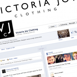 Facebook page set up and promotion