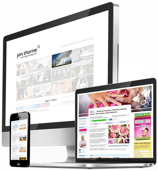 Jemford Web Design websites work on all platforms and browsers
